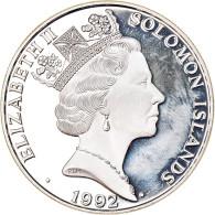 Monnaie, Îles Salomon, 10 Dollars, 1992, FDC, Argent, KM:51 - Solomon Islands