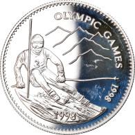 Monnaie, Mongolie, 500 Tugrik, 1998, FDC, Argent, KM:155 - Mongolia