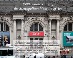 Tuvalu 2020 Metropolitan Museum Of Art ,paintings  1202104 - Tuvalu