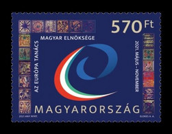 Hungary 2021 Mih. 6202 Hungarian Presidency Of The Council Of Europe MNH ** - Nuovi
