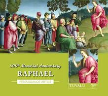 Tuvalu 2020 Paintings Of Raphael ,art   1202104 - Tuvalu