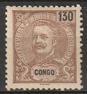 Portuguese Congo 1903 Sc 29  MH* Some Disturbed Gum - Portugiesisch-Kongo