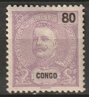 Portuguese Congo 1898 Sc 26  MH* Some Disturbed Gum - Portugiesisch-Kongo