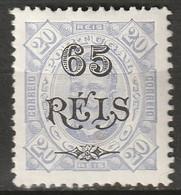 Portuguese Congo 1902 Sc 37  MH* Gum Thin - Portugiesisch-Kongo