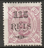 Portuguese Congo 1902 Sc 40  MH* - Portugiesisch-Kongo
