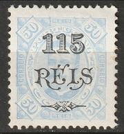 Portuguese Congo 1902 Sc 41  MH* Some Disturbed Gum - Portugiesisch-Kongo