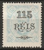 Portuguese Congo 1902 Sc 41a  MH* - Portugiesisch-Kongo