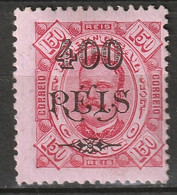 Portuguese Congo 1902 Sc 46  MH* Disturbed Gum - Portugiesisch-Kongo