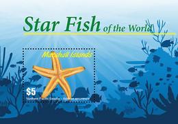 Marshall Islands 2020  Fauna Star Fish Of The World  202104 - Marshall Islands