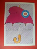 CP 1989 Bicentenaire Revolution Tirage 1000 Ex. Ed. MONTMORILLON - Ill:  - PRADIGNAC ST JUNIEN 87 Parapluie Cocarde - Sin Clasificación