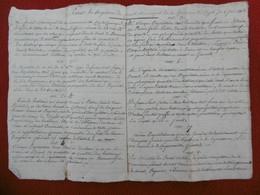 CAMARGUE REGLEMENT SUR LA DEPAISSANCE 1813 VESSON MAIRE DU CAYLA - Historische Documenten