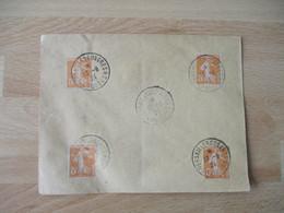 13.6.1924. Lot De 2  Versailles Congres Postes Obliteration Lettre - 1921-1960: Modern Period