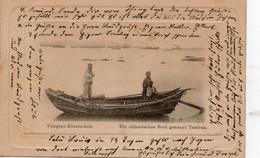 Tsingtau - Kiautschou. Ein Chinesisches Boot Genannt Tamban. - China