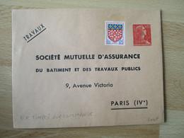 T S C  Societe Mutuelle Assurance  Entier Postal Enveloppe - Standard- Und TSC-Briefe (vor 1995)