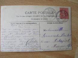 12906 Byans Facteur Boitier Bureau Distribution 1906 Obliteration Lettre - 1877-1920: Semi-moderne Periode