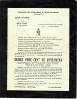 PERE CENT 1er R.I.C. REGIMENT INFANTERIE COLONIALE 1957 AVEC LES NOMS A L'INTERIEUR - Andere