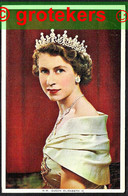 H.M. QUEEN ELISABETH II 1952 Stamp Cancelled With Belgian Cancellation MICHEROUX - Other