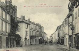 Le Tarn GAILLAC  Maison Cantalauze Et Rue Joseph Rigal Animée Labouche  RV - Gaillac