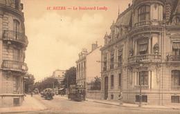 REIMS : LE BOULEVARD LUNDY - Reims