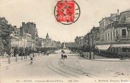 REIMS : L'AVENUE DROUET-D'ERLON - Reims