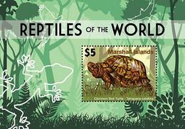 Marshall Islands 2020 Fauna Reptiles Of The World, Turtle  I202104 - Marshall Islands