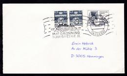 RÖDBY-FEHMERN PAQUEBOT 7.10.82 M/F DRONNING MARGARETHE II Auf Brief - Unclassified