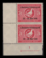 SBZ 1949 10x Nr 233 DZ Postfrisch (405382) - Soviet Zone