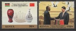 Kenya (2013) - Set -  /  China Cooperation - Presidents - Kenia (1963-...)