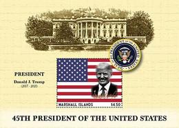 Marshall Islands 2020   U.S President - Donald J. Trump   I202104 - Marshall Islands