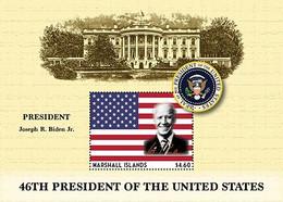 Marshall Islands 2020   U.S President - Joseph Robinette Biden, Jr    I202104 - Marshall Islands