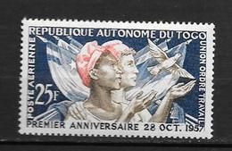 PA - 1957 - N° 24 **MNH - République Autonome - Togo (1960-...)