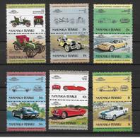 Tuvalu - Nanumaga 1984 Autos Mi.Nr. 1/12 Kpl. Satz ** - Tuvalu