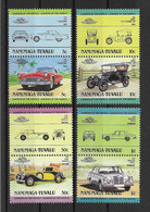 Tuvalu - Nanumaga 1984 Autos Mi.Nr. 25/32 Kpl. Satz ** - Tuvalu