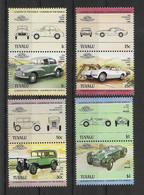 Tuvalu 1984 Autos Mi.Nr. 268/75 Kpl. Satz ** - Tuvalu
