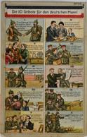 CPA Les 10 Commandements Pour L'homme Allemand / Die 10 Gebote Fur Den Deutschen Mann (C 1062) - Unclassified