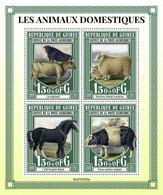 GUINEA 2021 - Domestic Animals, Cows. Official Issue [GU210225a] - Cows