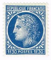 France, N° 678 - Cérès De Mazelin - Unused Stamps