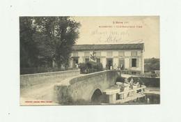 "11 - NAUROUSE - Café Restaurant "" FIEU "" Animé Bon état - Otros Municipios"