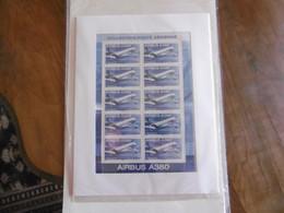 2006    PA69 * *  FEUILLET  F69a    AVION AIRBUS A380 SOUS BLISTER D ORIGINE DATE 21 04 06 - 1960-.... Nuovi