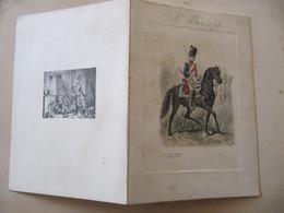 MENU HOTEL DE L'ESPERANCE BRUXELLES - Société Des Officiers Français - 1911 - Format : 11 X 15 Cm   2 Volets - Menus