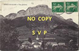 01237 DINGY SAINT CLAIR // VUE GENERALE // TIMBRES // DOS DIVISE - Dingy-Saint-Clair