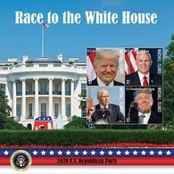Marshall Islands 2020   Presidential Elections Of USA, Trump ,Biden, Pence , Harris I202104 - Marshall Islands