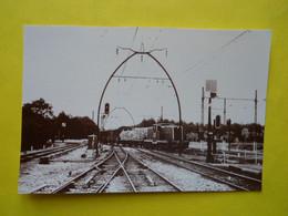 Photo ,TRAMWAY Et Gares De GIRONDE , Collection Bourneuf ,lire Descriptif  , Facture Par Borderie - Treinen