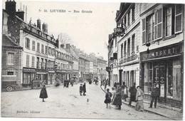 27 LOUVIERS - Rue Grande - Animée - Louviers