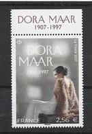 FRANCE 2021 MNH Neufs** - DORA MAAR - Nuovi