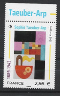 FRANCE 2021 MNH Neufs** - SOPHIE TAEUBER-ARP - Nuovi