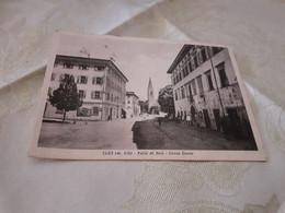 CARTOLINA CLES- VALLE DI NON - CORSO DANTE- VIAGGIATA 1950 - Trento
