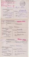 FRANCE : GUERRE . 15 LETTRES ET CARTES . PG D'OFLAGS . 1940/43 . - Guerra De 1939-45