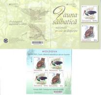 2021. Moldova, Europa 2021, Endangered National Wildlife/Birds, Booklet,  Mint/** - Moldavia