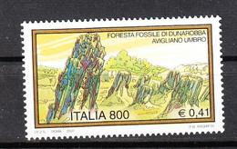 Italia   -  2000. Avigliano. Foresta Fossile. Fossil Forest. MNH - Archéologie